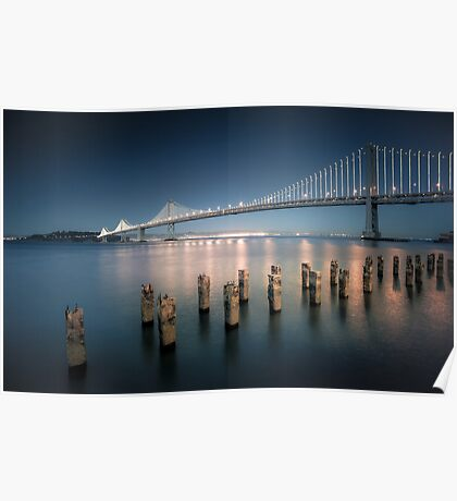 The Bay Bridge Natural Poster
