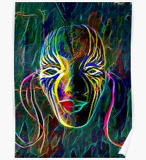 Fractal Mask Poster