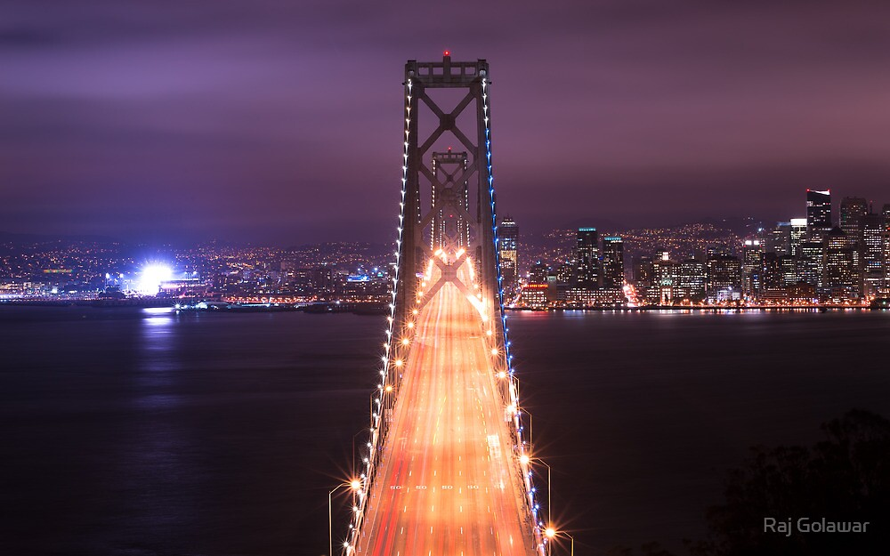 The Bay Bridge by Raj Golawar