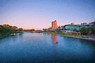 Adelaide Riverbank at Sunset   (ED) by Raymond Warren