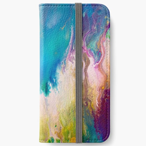 Cosmic fire magic iPhone Wallet