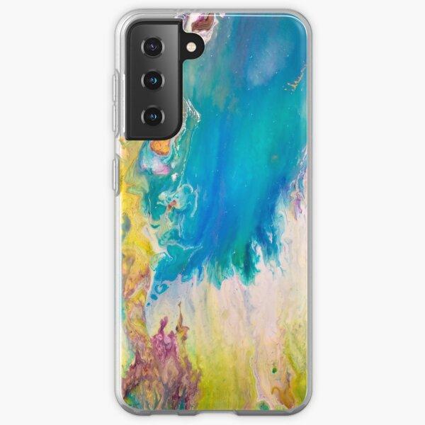 Cosmic fire magic Samsung Galaxy Soft Case