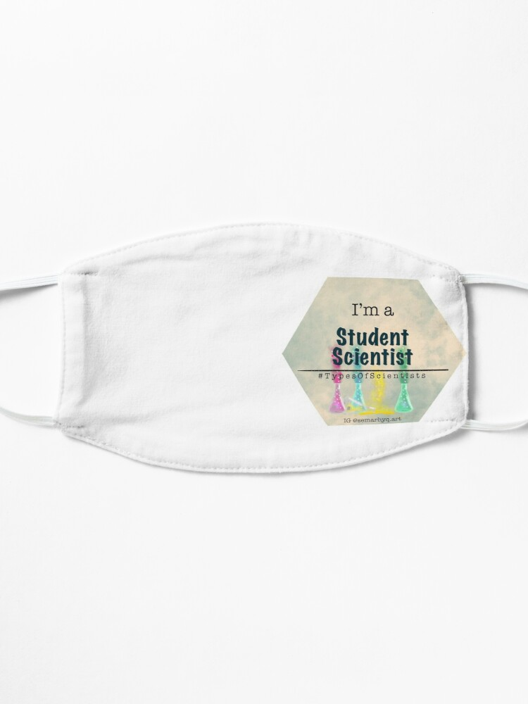 Alternate view of Students Scientist, Types of Scientist Tags Mask