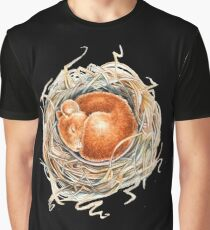 Mouse in the nest Graphic T-Shirt