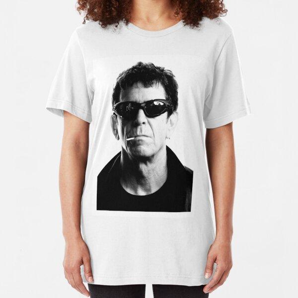 Lou Reed RIP Slim Fit T-Shirt