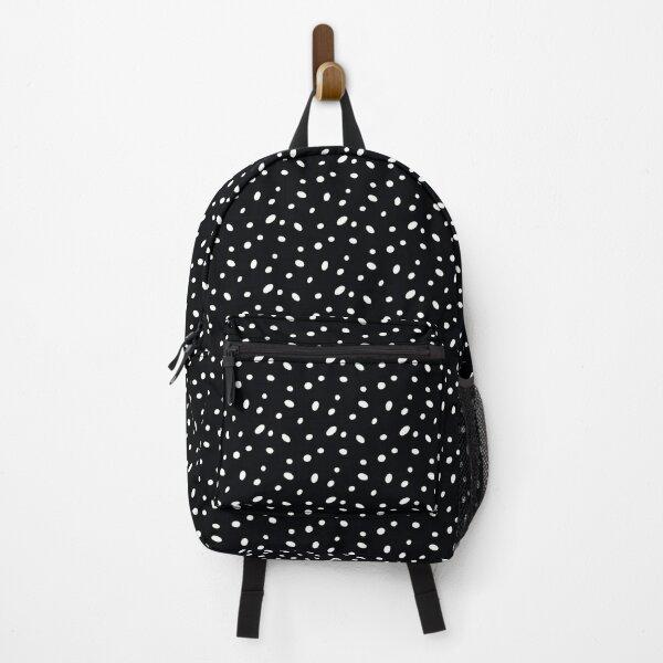 Polka Dots - Black & White Backpack