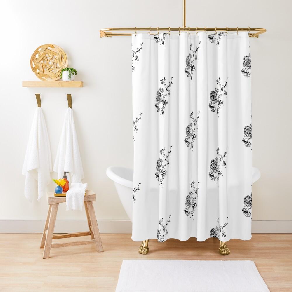 Orkney Mandala Shower Curtain