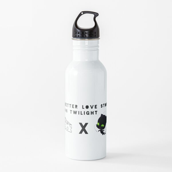 Plagg x Cheese  A better love story than Twilight Water Bottle