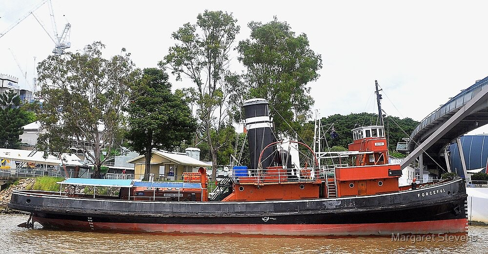 'FORCEFUL', A BOAT WITH HISTORY by Margaret Stevens
