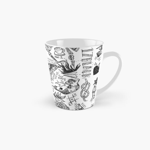 harry styles all tattoos Tall Mug
