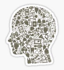 Head medicine Sticker