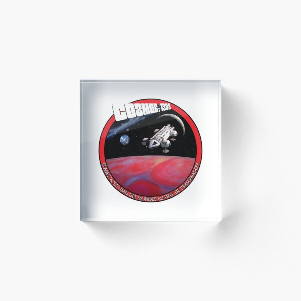 SPACE: 1999 GENERIC 11B Acrylic Block