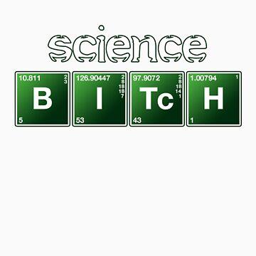 Science Bitch - Jessie Pinkman by HardShirts