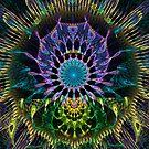 Peacock Dreamcatcher by wolfepaw