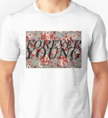 Forever Young Floral Collection T-Shirt