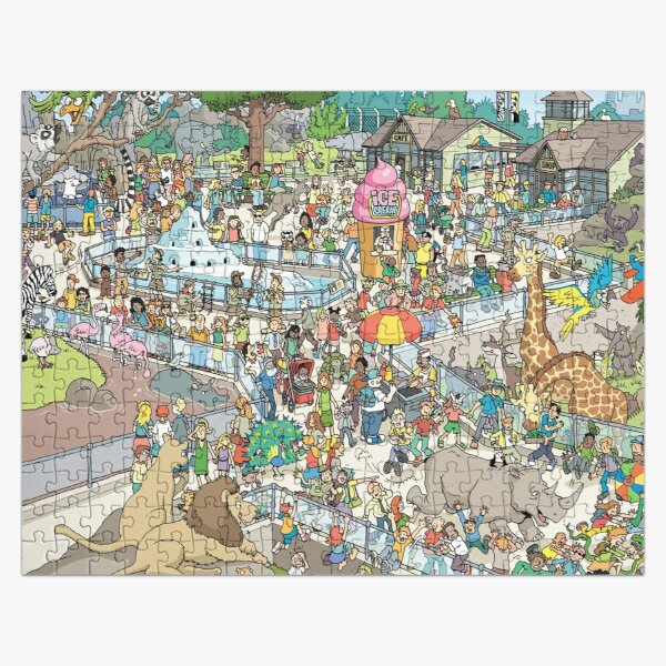 Zoo Escape Jigsaw Puzzle
