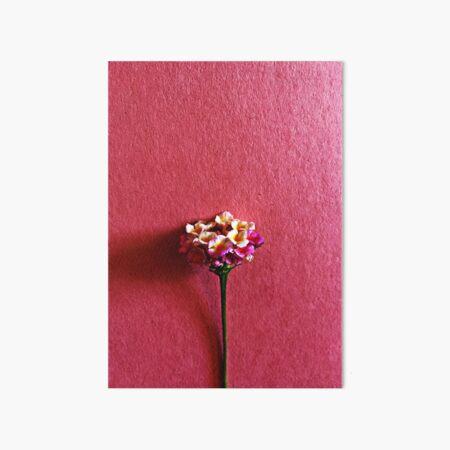Lantana Flower Art Board Print