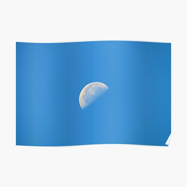 Day Moon Poster