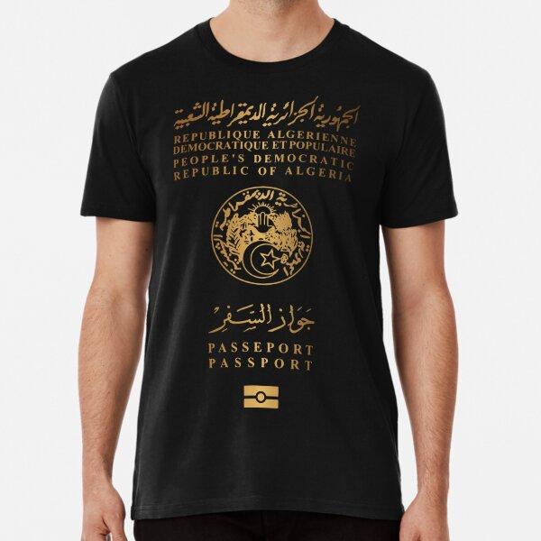 Algerischer Pass v3 Premium T-Shirt