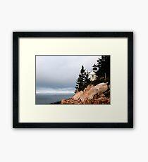 Bass Harbor Lighthouse, Maine Framed Print
