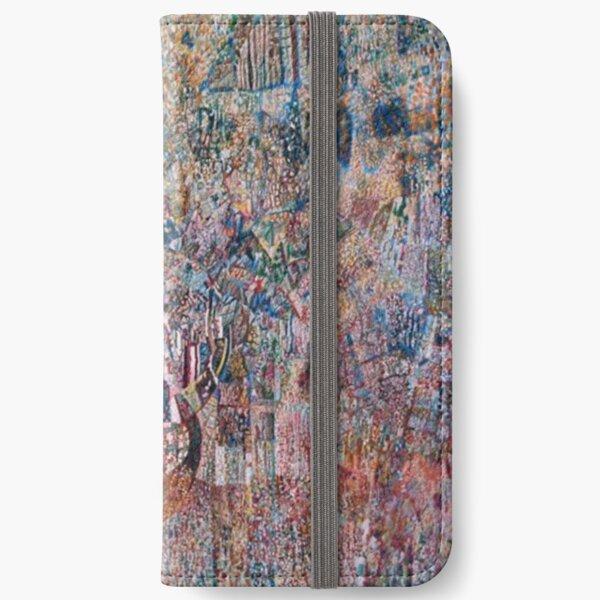 «Формула весны и действующие силы» Филонова (1927–1928) iPhone Wallet