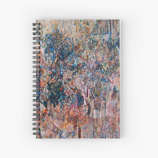 «Формула весны и действующие силы» Филонова (1927–1928) Spiral Notebook