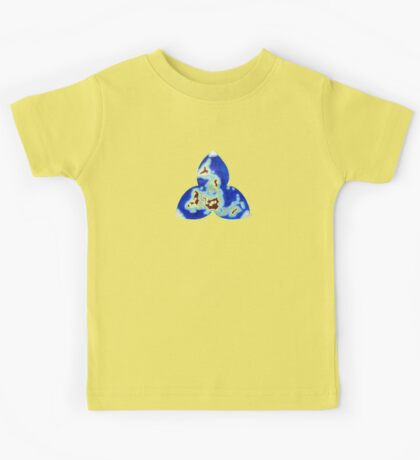 Tri-point World Map Kids Clothes