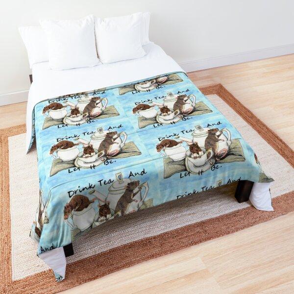 Rat Tea Party Comforter