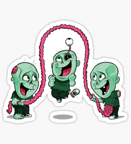 Playtime of the dead Sticker