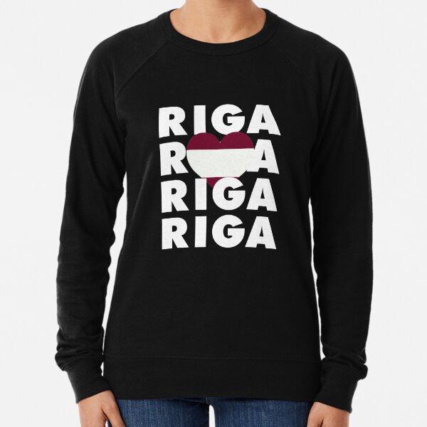 Riga is My Hometown in Latvia Lightweight Sweatshirt