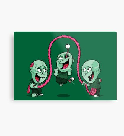 Playtime of the dead Metal Print