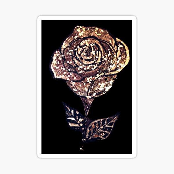 Diamond Rose Sticker