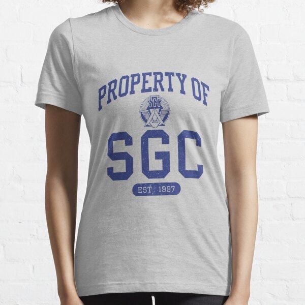 Propriété de SGC T-shirt essentiel