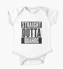 Straight Outta Quahog - The Family Guy One Piece - Short Sleeve
