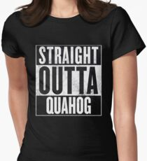 Straight Outta Quahog - The Family Guy Womens Fitted T-Shirt