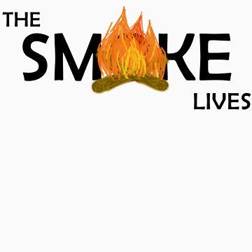 The Smoke Lives-Black by lisa53396