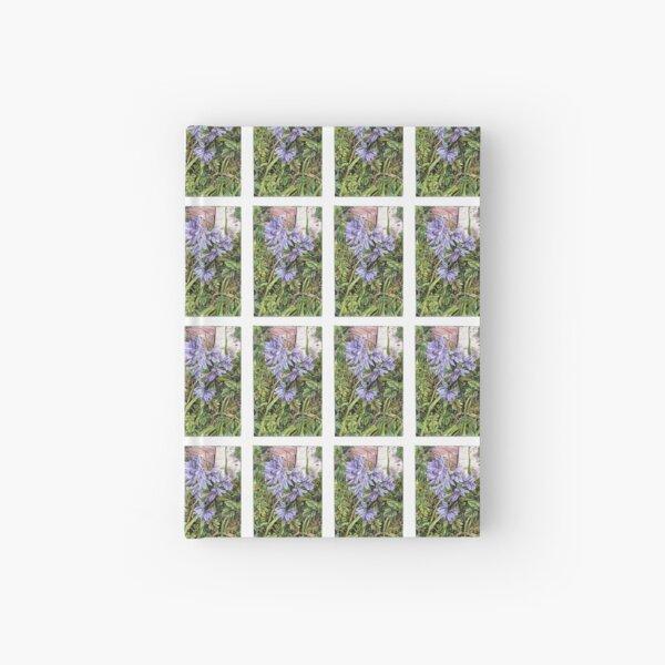 Purple Flowers Hardcover Journal