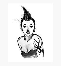 Punk Marilyn Photographic Print
