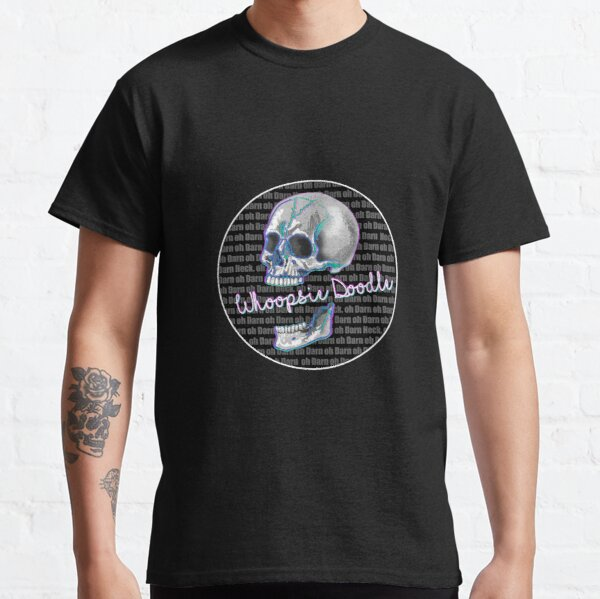 Whoopsie Doodle Comedic Skull Classic T-Shirt