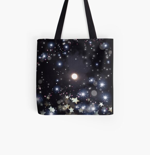 The Moon  All Over Print Tote Bag