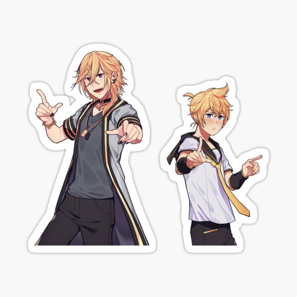 blonde bros Sticker