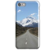 The road to Mount Cook iPhone Case/Skin