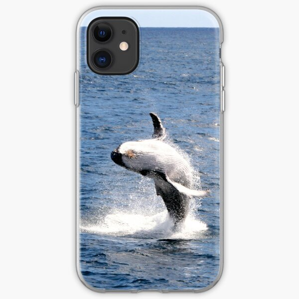 Breaching Humpback Whale iPhone Soft Case