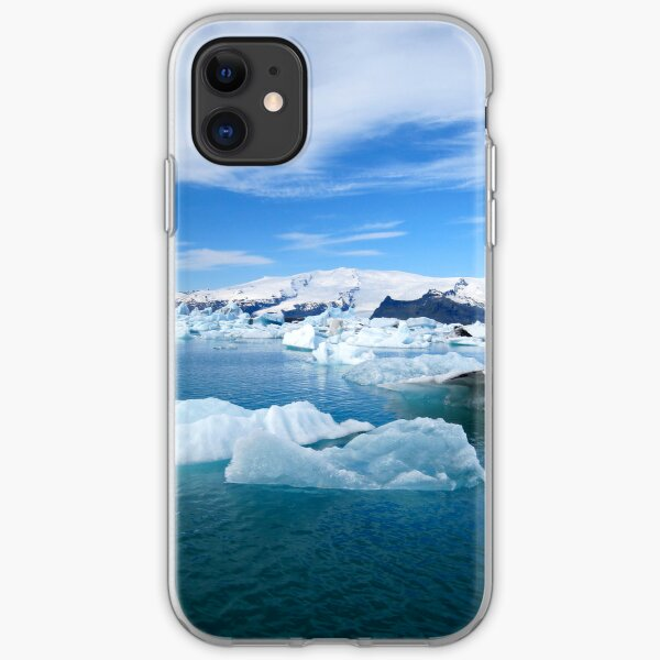 Iceland Icebergs iPhone Soft Case