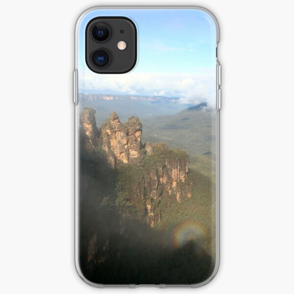 The Three Sisters, Blue Mountains - Australia iPhone Soft Case
