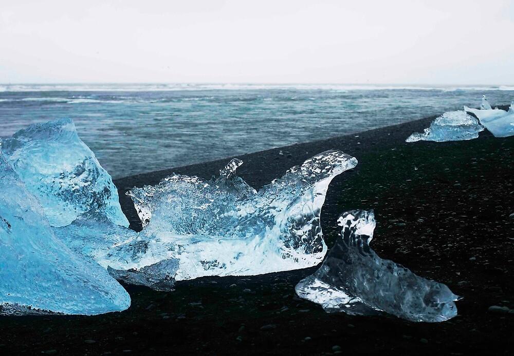 Frozen wave by Olof-Arna