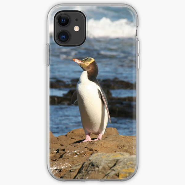 Yellow-eyed Penguin iPhone Soft Case