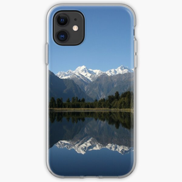 Lake Matheson - New Zealand iPhone Soft Case
