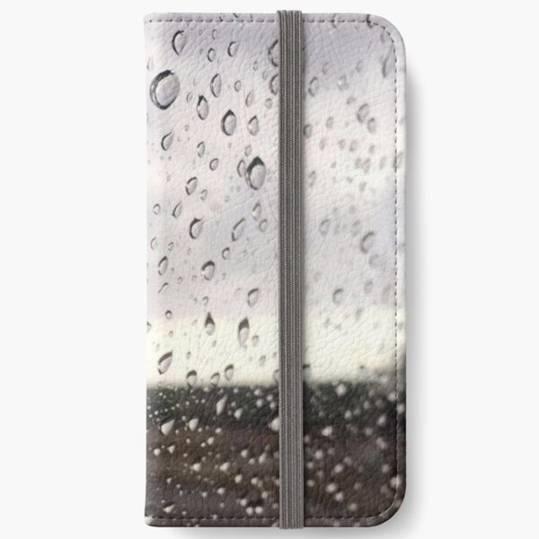 Rainy Window iPhone Wallet
