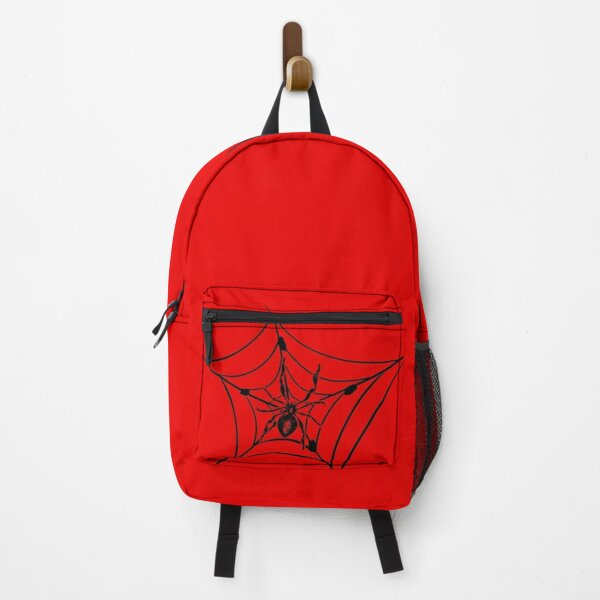 Spider Web Arachnid Black Widow Cobweb Backpack